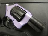 Charter Arms Lavender Lady Lavender/Black .38 Special +P 53848 - 6 of 7