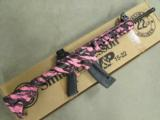 Smith & Wesson M&P15-22 Pink Platinum Threaded BBL .22 LR 811051