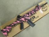 Smith & Wesson M&P15-22 Pink Platinum Threaded BBL .22 LR 811051