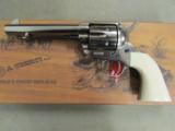 Uberti 1873 Single-Action Cattleman Cody Revolver .45 Colt - 2 of 9