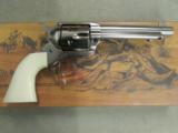Uberti 1873 Single-Action Cattleman Cody Revolver .45 Colt - 1 of 9