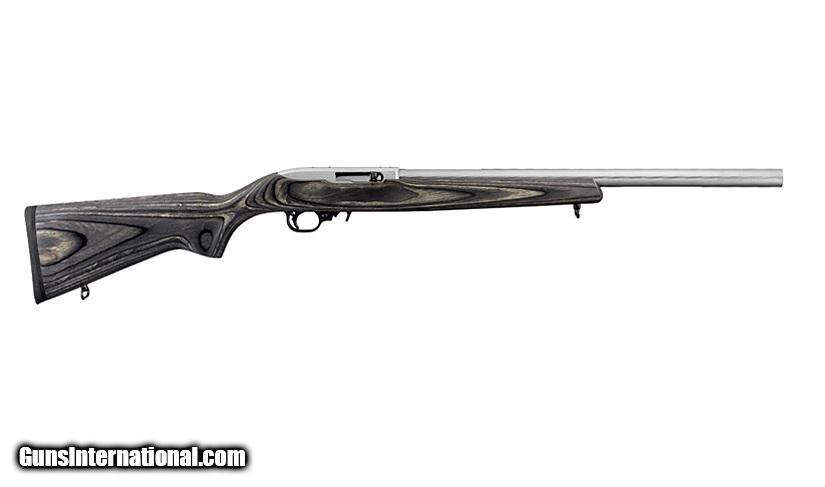 Ruger 10 22 Target Stainless Black Laminate 22 Lr 1262