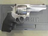 "Ruger Redhawk Double Action 4.2"" Stainless Hogue Grip .44 Mag 5026"