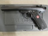 "Ruger Mark III Target 5.5"" Bull BBL Black .22 LR 10101 - 2 of 7"