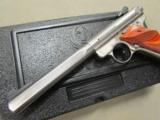 "Ruger Mark III Competition 6.88"" Stainless .22 LR 10112 - 7 of 10"