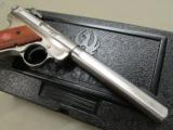 "Ruger Mark III Competition 6.88"" Stainless .22 LR 10112 - 8 of 10"