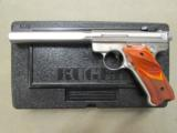 "Ruger Mark III Competition 6.88"" Stainless .22 LR 10112 - 2 of 10"