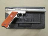 "Ruger Mark III Competition 6.88"" Stainless .22 LR 10112 - 1 of 10"