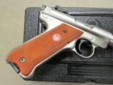 "Ruger Mark III Competition 6.88"" Stainless .22 LR 10112 - 3 of 10"