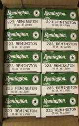 200 ROUNDS REMINGTON/UMC .223 REM 55 GR FMJ L223R3 - 3 of 4