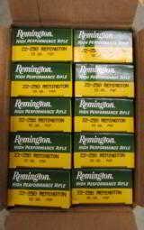 200 ROUNDS REMINGTON .22-250 REM 55 GR SP R22501 - 2 of 3