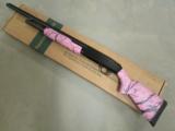 Mossberg 500 Super Bantam Pink Marble 20 ga 54147 - 2 of 9