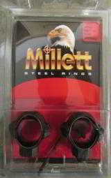 18 Sets Millett Scope Rings Leupold Nikon Vortex Bushnell Steiner & More Medium Smooth SR00002- 2 of 5