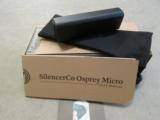 SILENCERCO OSPREY MICRO .22 LR SILENCER/SUPPRESSOR SU-1504
