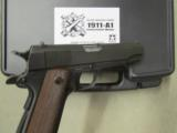 Inland Manufacturing 1911A1 Government Model WWII Replica .45 AUTO - 8 of 8