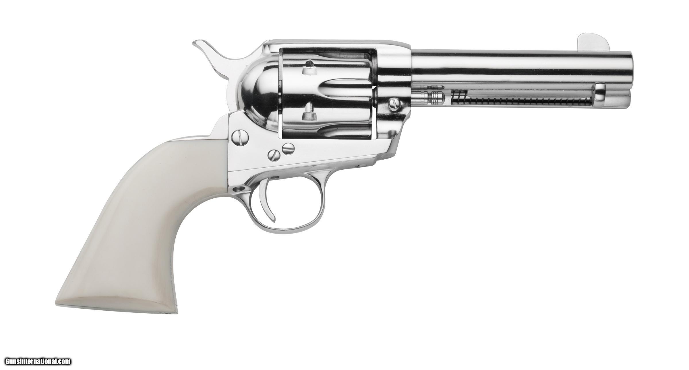 Traditions 1873 Single Action Revolver 357 Mag Nickel