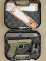 "Glock G19 Gen4 9MM 4.4"" ODG/FDE 15Rds UG1950204ODG"