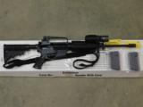 COLT DEFENSE AR-15 A2 LW RESTRICTED MARKED CARBINE GOVERNMENT LAW ENFORCEMENT ISSUED SUREFIRE M500A