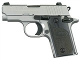 "Sig Sauer P238 HD .380 ACP 2.7"" SS California Approved 238-380-HD-CA"