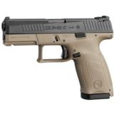 "CZ-USA CZ P-10 C FDE 9MM Luger 4.02"" 15 Rds 91521"