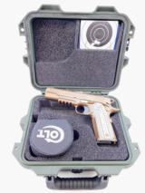 """Colt 1911 M45A1 CQB Marine Rail Gun .45 ACP 5"""" FDE O1070CQB"""