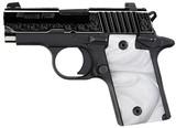 """Sig Sauer P238 White Pearl .380 ACP 2.7"""" 238-380-ESW"""
