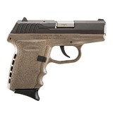 SCCY Firearms CPX-2 9mm FDE 3.1