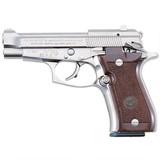 """Beretta 85FS Cheetah .380 ACP 3.8"""" Nickel J85F212"""