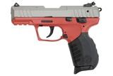 """Ruger SR22 Red/Gunmetal Gray .22 LR 3.5"""" 10 Rds 3632"""