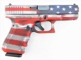 "Glock G19 Gen 4 9mm American Flag 4.01"" UG1950204CKUSA"