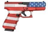 """Glock G19 Gen4 9mm 4.02"""" American Flag 15 Rds UG1950204AF"""