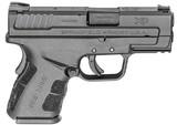 "Springfield XD Mod.2 Sub-Compact 3.3"" .45 ACP XDG9845BHC"