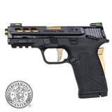 "Smith & Wesson PC M&P 380 Shield EZ .380 ACP 3.8"" Ported Gold 12719"