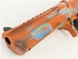 "Desert Eagle 6"" .50 AE Custom Copper Patina Cerakote - 3 of 4"