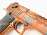 "Desert Eagle 6"" .50 AE Custom Copper Patina Cerakote - 4 of 4"