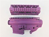 Anderson Manufacturing Stripped Upper and Lower with Quadrail Wild Purple - 1 of 1