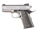 "Magnum Research Desert Eagle 1911 U Stainless .45 ACP 3"" DE1911USS"