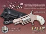 NAA Mini Revolver MOM Rose Gold .22 LR Pearlite w/ Holster NAA-22LR-MOMR