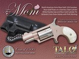 NAA Mini Revolver MOM Rose Gold .22 LR Pearlite w/ Holster NAA-22LR-MOMR - 1 of 1