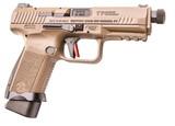 "Century Arms Canik TP9 Elite Combat 9mm 4.73"" Desert Tan HG4617D-N"
