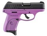 """Ruger EC9s 9mm Luger 3.12"""" TALO Purple / Black 3287"""