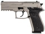 "Arex FIME Rex Zero 1S 9mm Luger 4.3"" Nickel 17 Rds REXZERO1S-06"