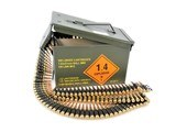 MagTechCBC 7.62 NATO 147 Grain FMJ 500 Rounds MTA762ALINKED Belted in Can