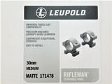 Leupold Rifleman 30mm Medium Rings Tungsten Cerakote 171478FDE - 3 of 3