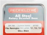 Redfield SR700 2-Piece Scope Base Tungsten Cerakote 47193TU