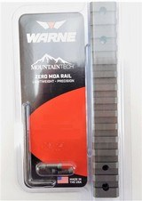 Warne Mountain Tech 1-Piece Zero MOA Rail for Wby Vanguard Short Action Burnt Bronze - 1 of 1