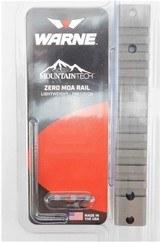 Warne 1-Piece Zero MOA Rail for Remington 700 Short Action Tungsten
