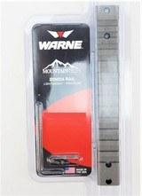 Warne Mountain Tech 1-Piece 20 MOA Rail for Remington 700 Long Action Tungsten