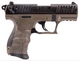 Walther P22 California .22 LR 3.42