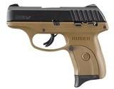 Ruger EC9s FDE / Black 9mm Luger 3.12